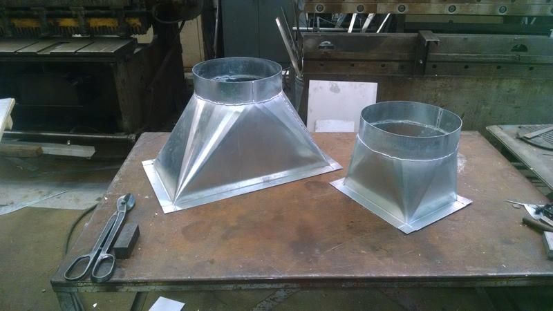 Gallery Metal Sink Sheet Metal Pipe Fitting